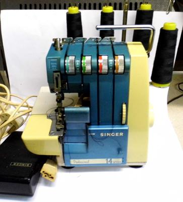 Rare Singer, professional, industrial overlocker sewing machine