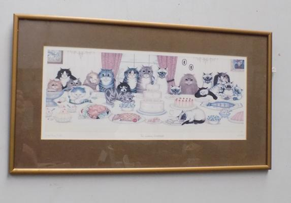 Signed print The Wedding Breakfast by Linda Jane Smith, No. 44 of 850