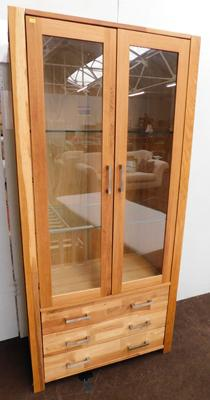 Woburn glass fronted cabinet