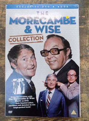 Morcambe & Wise collection exclusive DVD & book set