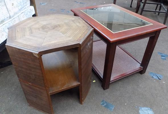 Two occasional/coffee tables