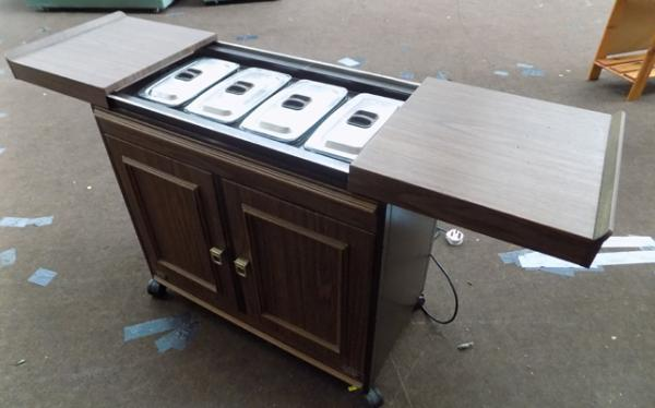 Electric Philips hostess trolley