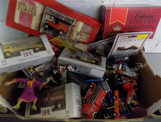 Collection of boxed & loose diecast, MB,  EFE + loose & characters incl. Star Wars