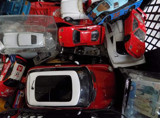 Collection of model cars-inc James Bond