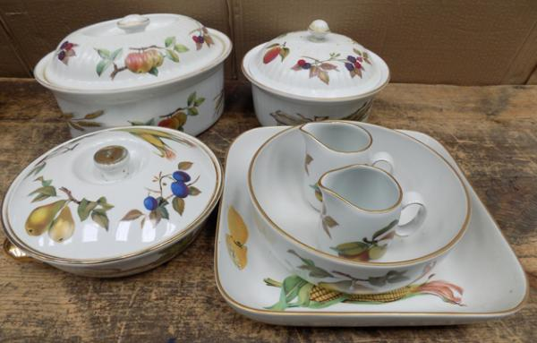Collection of Royal Worcester - Evesham