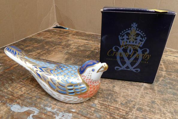 Royal Crown Derby mountain bluebird paperweight