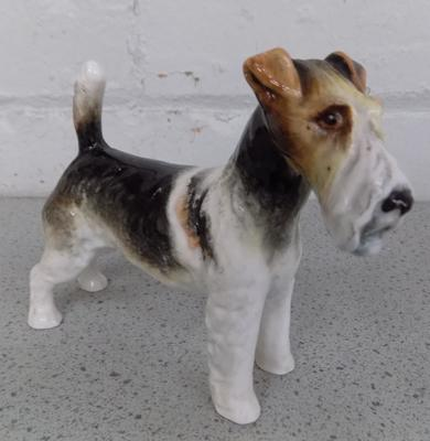 Royal Alderley bone china Airedale Terrier-approx 5 inches-no damage