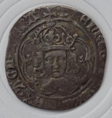 Edward III silver groat, very fine condition, from 1351-1361
