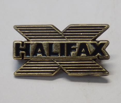 Rare sterling silver enamel, Halifax pin badge (approx. 2cm)