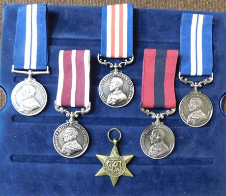 Selection of reproduction medals