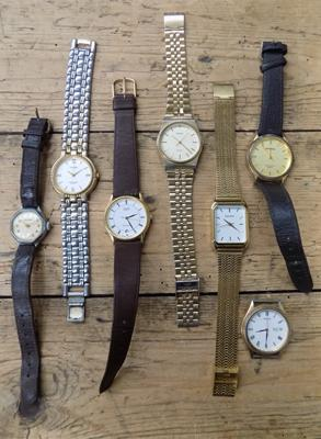 Collection of Gents watches including Sekonda and Casio