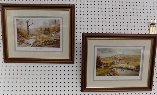 Alan Ingham Gone Fishing & Rounding up the strays framed prints