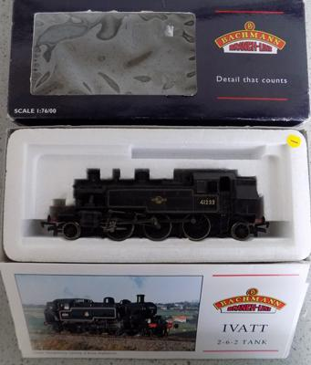 Bachmans scale 1:76/00, IVATT 2-4-2 tank with paperwork