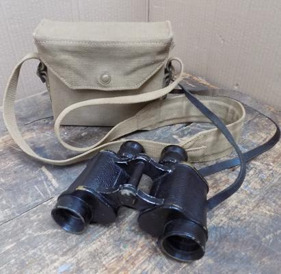 War 1941 issued binoculars in case