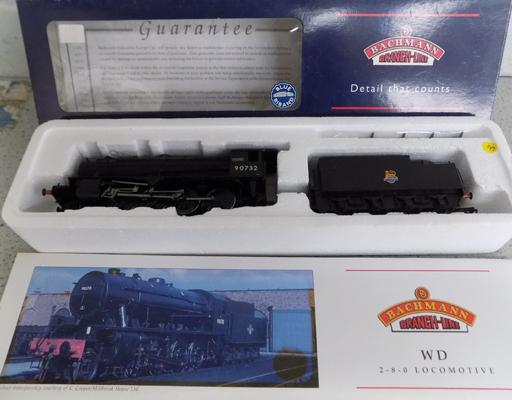 Bachmans W.D. 2-8-0 locomotive Austenity Vulcan, in box with paperwork