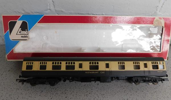 Lima W24760 restaurant car in box