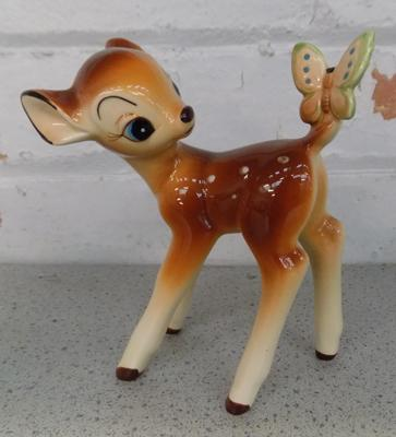 Vintage ceramic Disney Bambi - no damage found