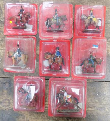 8x Sealed Del Prado figures