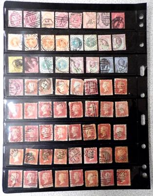 Selection of old stamps