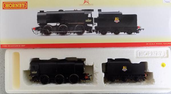 Hornby BR 0-6-0 class Q1 00 scale model in box