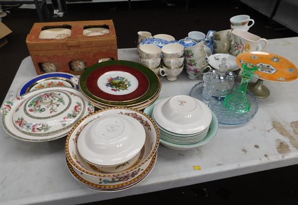 Collection of mixed china inc Spode
