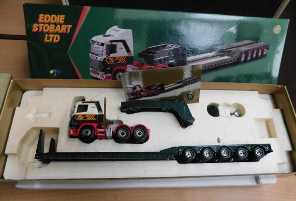 Eddie Stobart 1:50 scale low loader limited edition