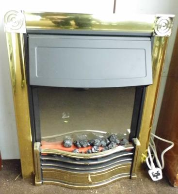 Dimplex electric fire w/o