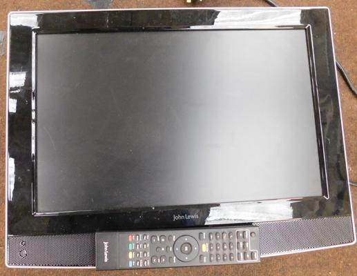 John Lewis 19 inch TV - not tested