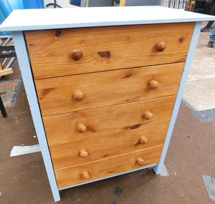 Set of 5 drawers