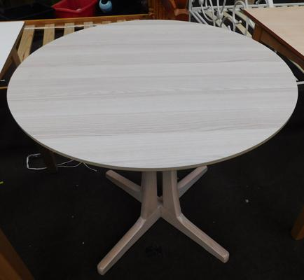 Small circular dining table - new, unused