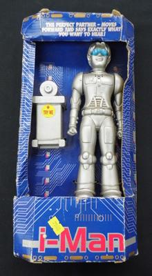 I- Man toy robot