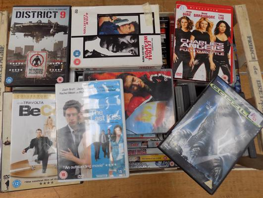 Large selection of DVDs