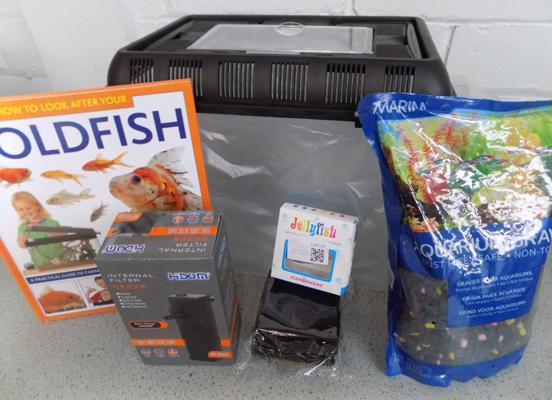 Goldfish Starter kit - all new including tank & filters etc.