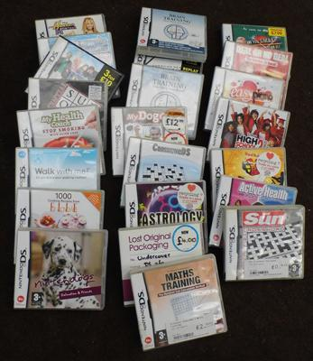 20+ Nintendo DS games