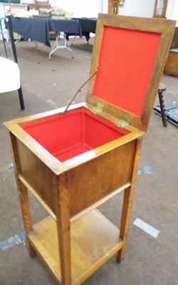 Vintage sewing box