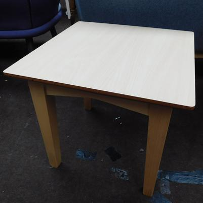 Small square coffee table, new, unused