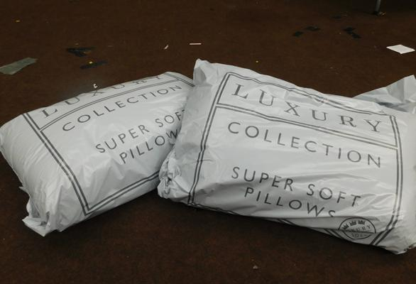 2 Pairs of sealed luxury collection pillows