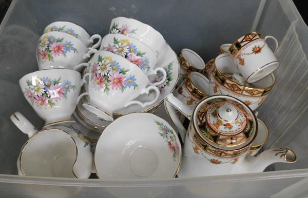 Box of china sets