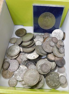 Collection of mixed coins-various dates & types