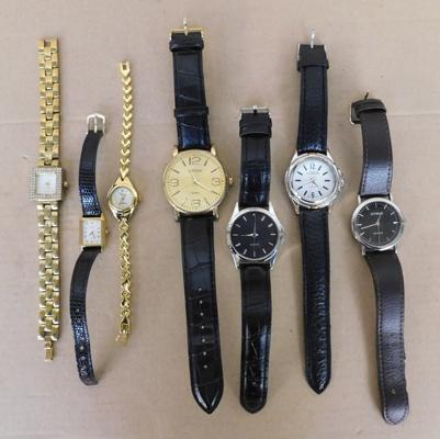 Selection of ladies & gents watches