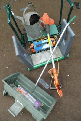 Selection of gardening equipment