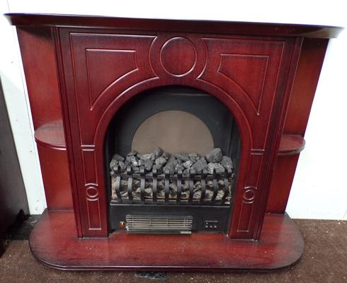 Electric coal effect fire-not checked