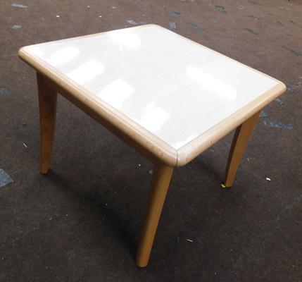 New/unused square coffee/occasional table
