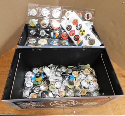 Large selection of badges