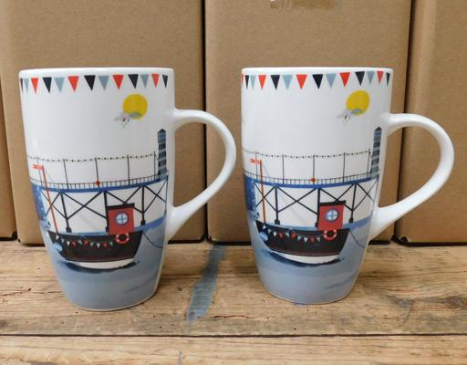 24x New RNLI cups-all proceeds donated to RNLI