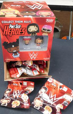 Full box  of WWE pint size Heroes blind bags