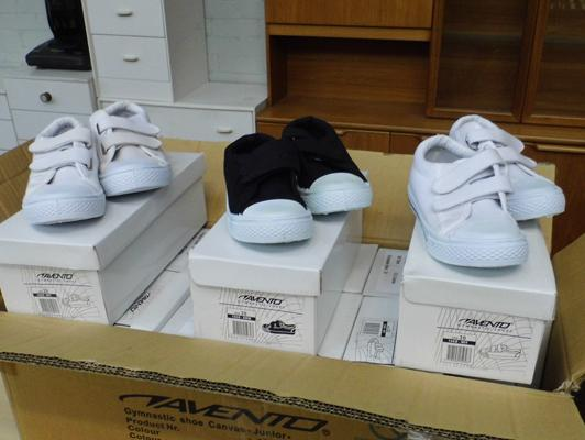 Assortment of new childrens trainers-various sizes