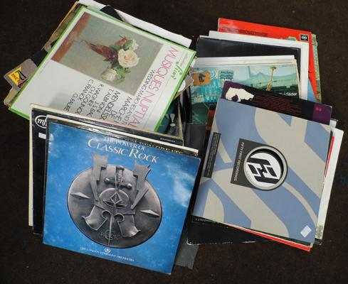 Mixed box of albums inc dance & 12""