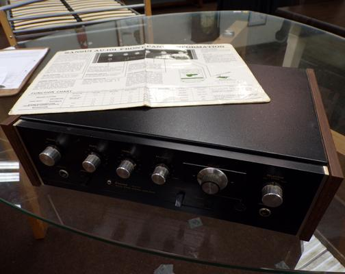 Sansui AU101 stereo amplifier- unchecked