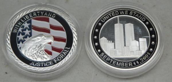 2 x 911 American Collector Coins